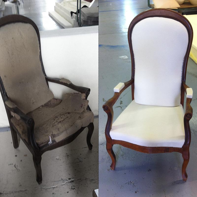 R novation de si ges les mains de votre design for Chaise voltaire